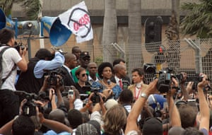 COP17 in Durban: Maite Nkoana-Mashabane and Christiana Figueres