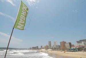 COP17 in Durban: Durban beach