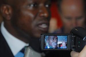 COP17 in Durban: African group lead negotiator Tosi Mpanu Mpanu