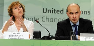 COP17 in Durban: EU press conference: Connie Hedegaard ,  Marcin Korolec