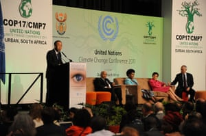 COP17 in Durban: Momentum for Change Initiative Plenary