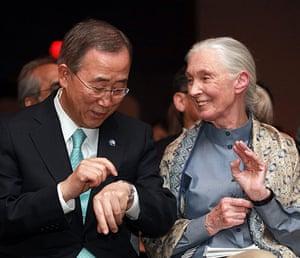 COP17 in Durban: Jane Goodall