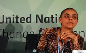 COP17 in Durban: Senator and former Brazilian former environment minister Marina Silva