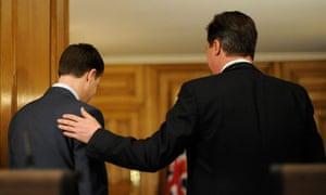 Nick Clegg and David Cameron British