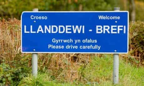 Llanddewi Brefi Ceredigion Wales