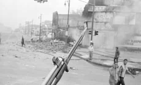 Bayonet of National Guard During Detroit Riots