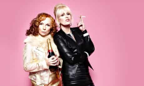 We're back: Joanna Lumley and Jennifer Saunders in the new  Absolutely Fabulous.