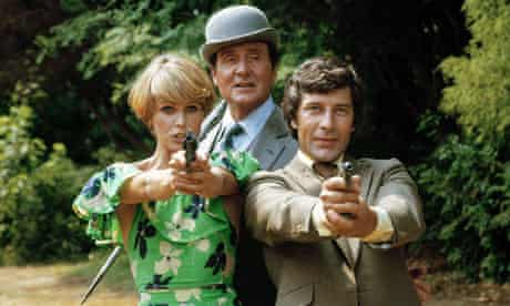 Lumley as Purdey in The New Avengers.