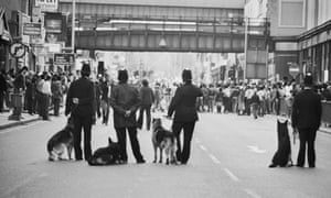 The Brixton riots in 1981
