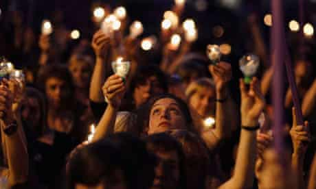 Uruguayan women on International Day for the Elimination of Violence against Women