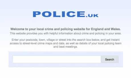 police crime map