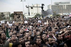 Egypt protests: Thousands of Egyptians gather in Cairo's Tahrir Square