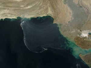 Satellite Eye on Earth: atmospheric gravity waves over the Arabian Sea