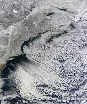 Satellite Eye on Earth: Snow over Eastern US