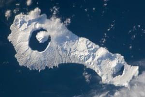 Satellite Eye on Earth: Onekotan Island, Russia