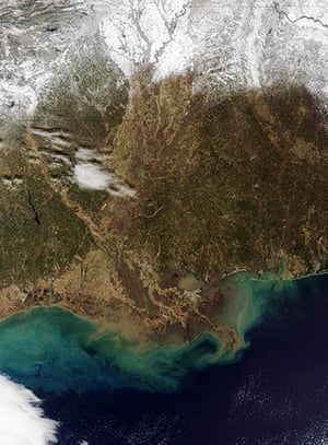 Satellite Eye on Earth: Louisiana
