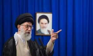 Ayatollah Ali Khamenei in 2009