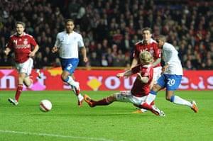 Denmark v England: Soccer - International Friendly - Denmark v England - Parken Stadion