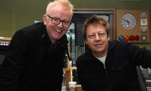 Chris Evans and Simon Mayo on Radio 2