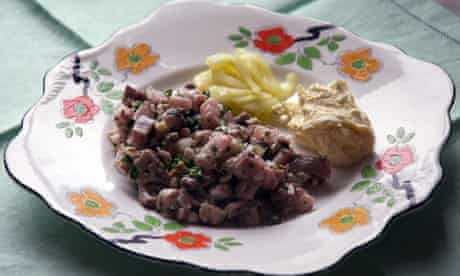 Anthony Demetre's mackerel tartare