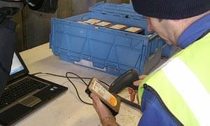 ID register shredded: ID register hard drives