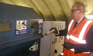 ID register shredded: Damian Green and shredding machine