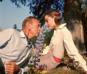 10 best: Love stories: On the film set of 'Love in the Afternoon' - 1957