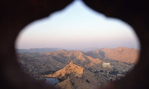 Landscape around Jaipur