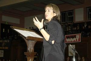 War on Want: Naomi Klein
