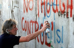 War on Want: Roger Waters, British rock legend at the Wall