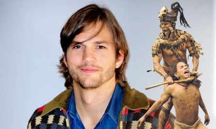 Ashton Kutcher and how he possibly imagines a Mayan apocalypse – a scene from Apocalypto.