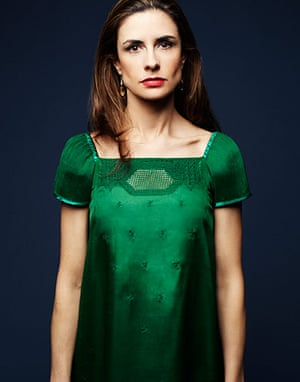 Livia Firth eco-fashion: Green silk recycled burqa dress