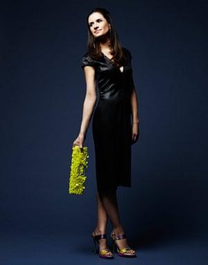 Livia Firth eco-fashion: Mud-dyed silk dress