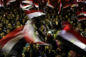 Egypt Day 17: Protesters in Tahrir Square