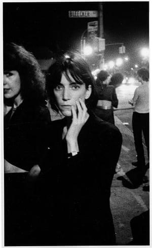 Women Who Rock: Patti Smith outside CBGB