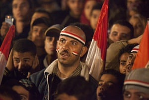 Sean Smith in Cairo: Anti Mubarak protesters react to the disappointing news he will stay
