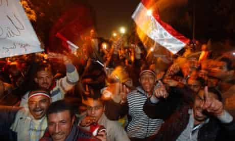 Mubarak resignation