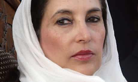 Benazier Bhutto on the day of her death