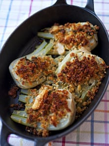 Baked fennel.