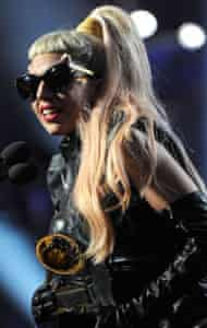 Lady Gaga The 53rd Annual GRAMMY Awards - Show