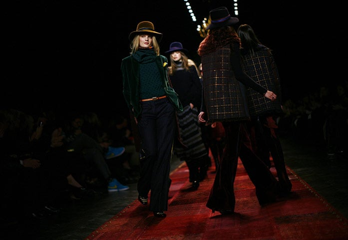 124d2018d1 New York fashion week  Sunday - in pictures