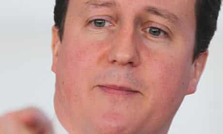 David Cameron admits that government spending cuts will make him unpopular