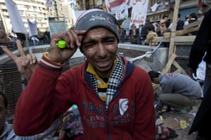 sean smith in tahrir sq : An emotional protester
