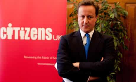 Cameron/Citizens UK/big society