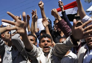 Bahrain protests: Yemen protest