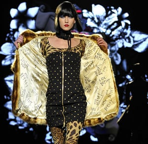 New York Fashion Week: Betsey Johnson is modelled during Fashion Week