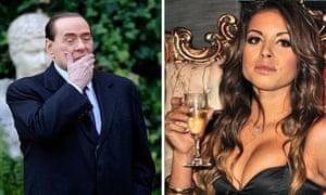 Silvio Berlusconi and Karima el-Mahroug