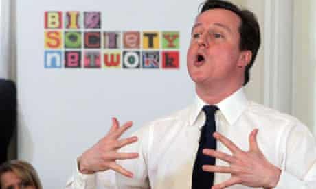 David Cameron relaunches 'big society' 14/2/2011