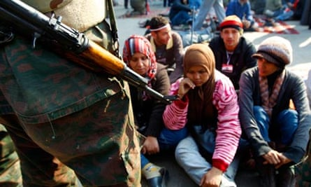 egypt protest army