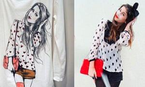 Inditex fashion blogging row